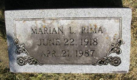 RIMA, MARIAN L. - Winneshiek County, Iowa | MARIAN L. RIMA