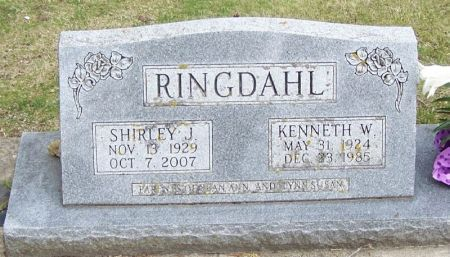 RINGDAHL, KENNETH W. - Winneshiek County, Iowa | KENNETH W. RINGDAHL