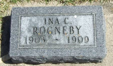 ROGNEBY, INA C - Winneshiek County, Iowa | INA C ROGNEBY