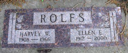 ROLFS, ELLEN E. - Winneshiek County, Iowa   ELLEN E. ROLFS