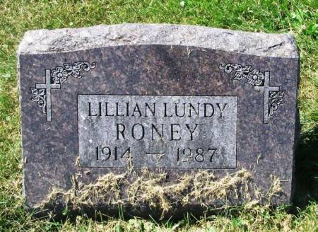 RONEY, LILLIAN - Winneshiek County, Iowa | LILLIAN RONEY