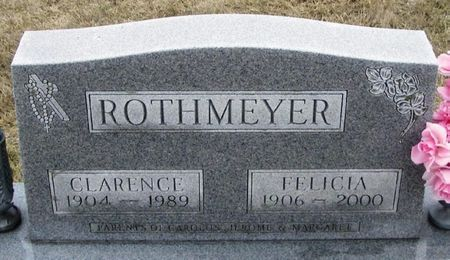 ROTHMEYER, CLARENCE HENRY - Winneshiek County, Iowa | CLARENCE HENRY ROTHMEYER
