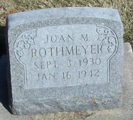 ROTHMEYER, JOAN M - Winneshiek County, Iowa | JOAN M ROTHMEYER