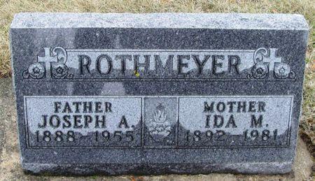 ROTHMEYER, IDA M. - Winneshiek County, Iowa   IDA M. ROTHMEYER