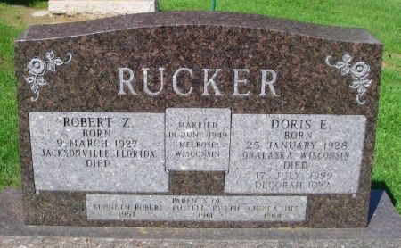 USTBY RUCKER, DORIS E. - Winneshiek County, Iowa | DORIS E. USTBY RUCKER