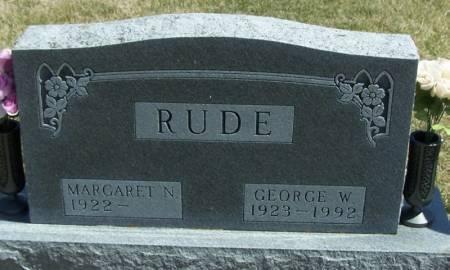 RUDE, GEORGE W - Winneshiek County, Iowa | GEORGE W RUDE