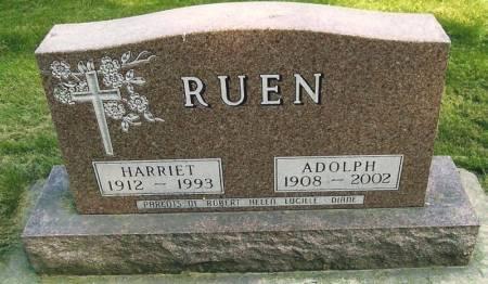 RUEN, HARRIET - Winneshiek County, Iowa | HARRIET RUEN