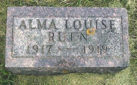 RUEN, ALMA LOUISE - Winneshiek County, Iowa | ALMA LOUISE RUEN
