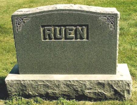 RUEN, LARGE STONE - Winneshiek County, Iowa | LARGE STONE RUEN