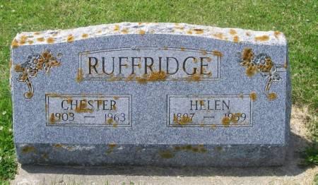 JOHNSON RUFFRIDGE, HELEN - Winneshiek County, Iowa | HELEN JOHNSON RUFFRIDGE