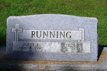 RUNNING, JOHN E. - Winneshiek County, Iowa | JOHN E. RUNNING