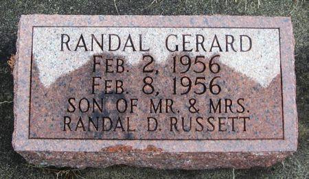 RUSSETT, RANDAL GERARD - Winneshiek County, Iowa | RANDAL GERARD RUSSETT