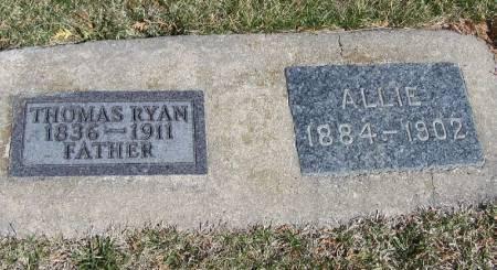 RYAN, ALLIE - Winneshiek County, Iowa   ALLIE RYAN
