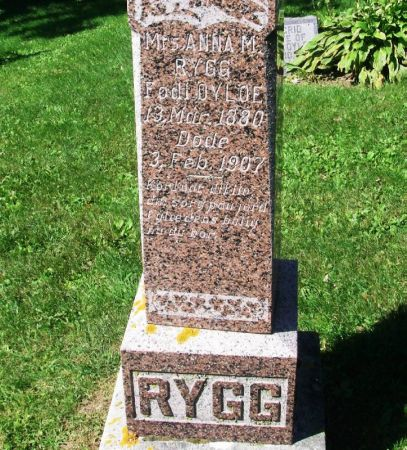OYLOE RYGG, ANNA M. - Winneshiek County, Iowa   ANNA M. OYLOE RYGG