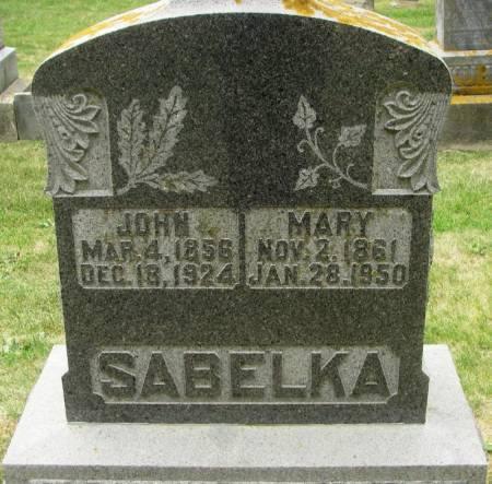 SABELKA, JOHN - Winneshiek County, Iowa | JOHN SABELKA