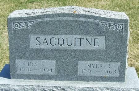 SACQUITNE, IDA S - Winneshiek County, Iowa | IDA S SACQUITNE