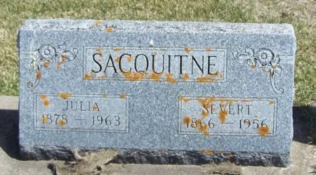 SACQUITNE, SEVERT - Winneshiek County, Iowa | SEVERT SACQUITNE