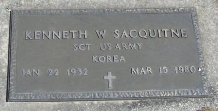 SACQUITNE, KENNETH W - Winneshiek County, Iowa | KENNETH W SACQUITNE