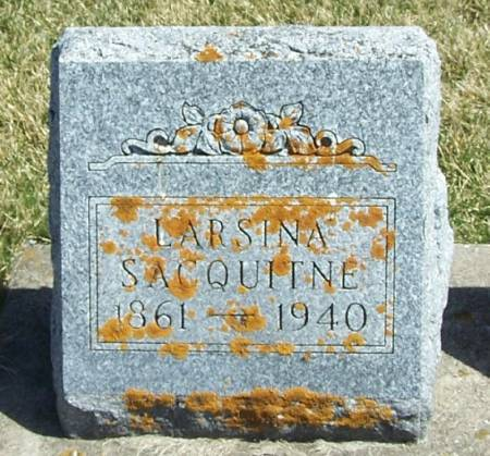 SACQUITNE, LARSINA - Winneshiek County, Iowa | LARSINA SACQUITNE