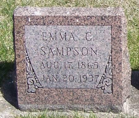 SAMPSON, EMMA C - Winneshiek County, Iowa | EMMA C SAMPSON