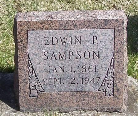 SAMPSON, EDWIN P - Winneshiek County, Iowa | EDWIN P SAMPSON