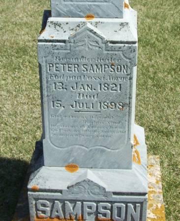 SAMPSON, PETER - Winneshiek County, Iowa | PETER SAMPSON