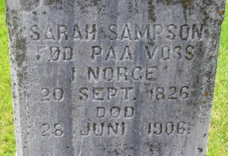 SAMPSON, SARAH - Winneshiek County, Iowa | SARAH SAMPSON