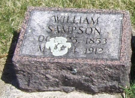 SAMPSON, WILLIAM - Winneshiek County, Iowa   WILLIAM SAMPSON