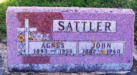 SATTLER, JOHN - Winneshiek County, Iowa | JOHN SATTLER