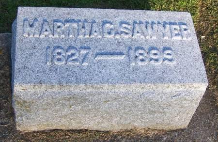 SAWYER, MARTHA G. - Winneshiek County, Iowa | MARTHA G. SAWYER