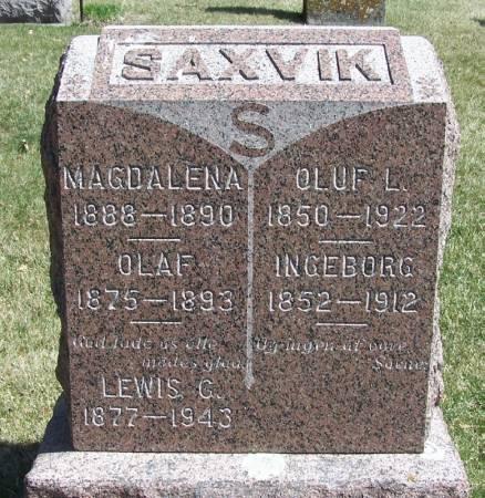 SAXVIK, LEWIS C - Winneshiek County, Iowa | LEWIS C SAXVIK