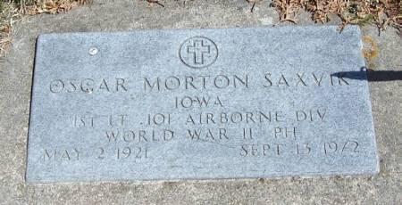 SAXVIK, OSCAR MORTON - Winneshiek County, Iowa | OSCAR MORTON SAXVIK