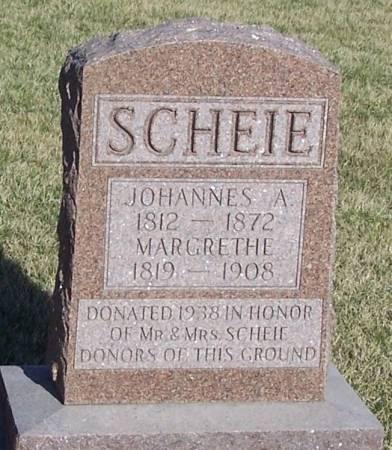 SCHEIE, MARGRETHE - Winneshiek County, Iowa | MARGRETHE SCHEIE
