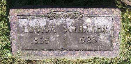 SCHELLER, LOUISA - Winneshiek County, Iowa | LOUISA SCHELLER