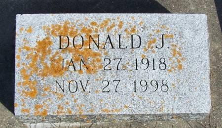 SCHISSEL, DONALD J - Winneshiek County, Iowa   DONALD J SCHISSEL