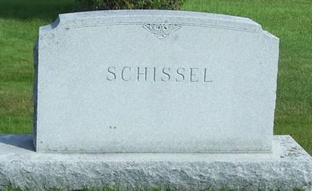 SCHISSEL, FAMILY STONE - Winneshiek County, Iowa | FAMILY STONE SCHISSEL