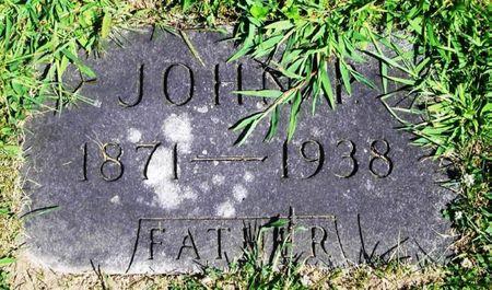 SCHISSEL, JOHN P. - Winneshiek County, Iowa   JOHN P. SCHISSEL