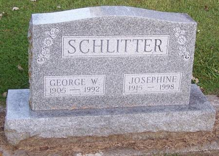 SCHLITTER, GEORGE W. - Winneshiek County, Iowa | GEORGE W. SCHLITTER