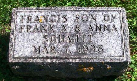 SCHMITT, FRANCIS - Winneshiek County, Iowa | FRANCIS SCHMITT
