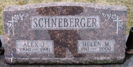 SCHNEBERGER, HELEN MARIE - Winneshiek County, Iowa   HELEN MARIE SCHNEBERGER