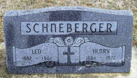 SCHNEBERGER, LEO - Winneshiek County, Iowa | LEO SCHNEBERGER