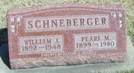 SCHNEBERGER, PEARL M - Winneshiek County, Iowa | PEARL M SCHNEBERGER