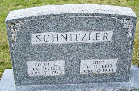 SCHNITZLER, EDITH G. - Winneshiek County, Iowa | EDITH G. SCHNITZLER