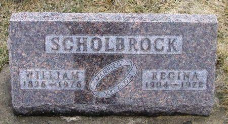 SCHOLBROCK, WILLIAM - Winneshiek County, Iowa | WILLIAM SCHOLBROCK