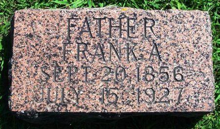 SCHREIBER, FRANK A. - Winneshiek County, Iowa   FRANK A. SCHREIBER
