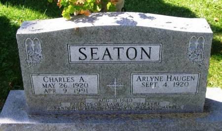 SEATON, CHARLES A. - Winneshiek County, Iowa   CHARLES A. SEATON
