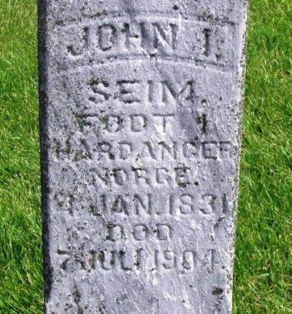 SEIM, JOHN I. - Winneshiek County, Iowa | JOHN I. SEIM
