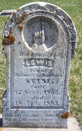 SEIM, LEWIS - Winneshiek County, Iowa | LEWIS SEIM