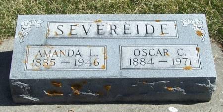 SEVEREIDE, OSCAR C - Winneshiek County, Iowa | OSCAR C SEVEREIDE