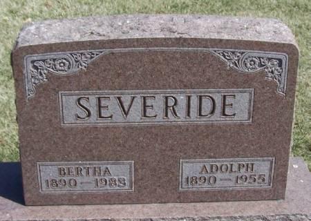 SEVERIDE, ADOLPH - Winneshiek County, Iowa | ADOLPH SEVERIDE